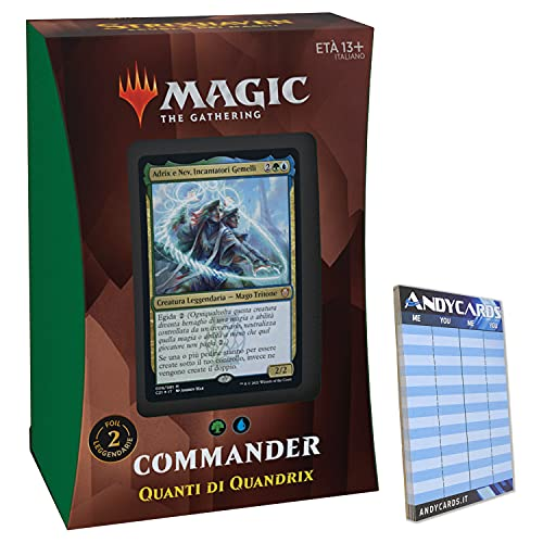 Baraja Quandrix – Commander Deck Strixhaven STX – 100 cartas Magic en...