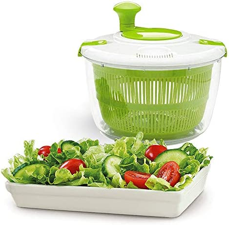 Salad Spinner Large 5L Lettuce Washer and Dryer Perfect for Washing and Drying Leafy Vegetables product image