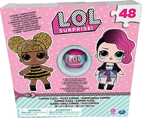 L.O.L. Puzzle Box with Exclusive Ball   Rompecabezas (Rompecabezas de Figuras, Niños y Adultos, Niño/niña, 5 año(s), China, Caja con Ventana)