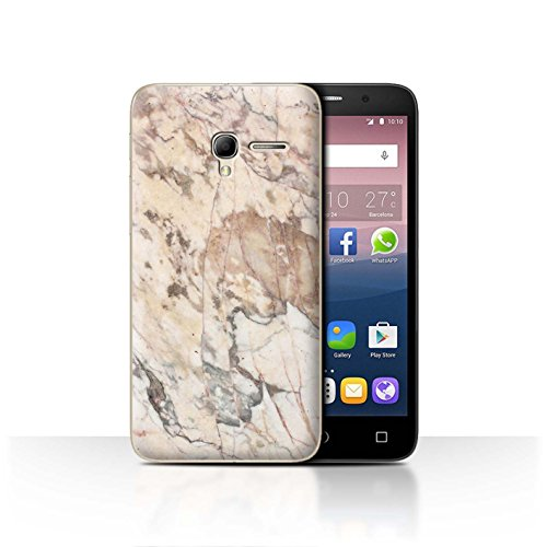 STUFF4Phone Case/Cover/Skin/alcpop35/Pink Fashion Collection Marbre Gris Craqué