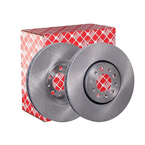 febi bilstein 19370 Brake Disc Set (2 Brake Disc) front, internally ventilated, No. of Holes 5