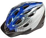 On Bike 3936 - Casco de Bicicleta para niño, Color Azul y Gris