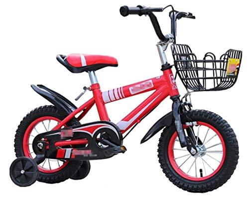 LZ kinderfiets 2-3-6-9-10 jaar oud baby-fiets kind-jongen kinderwagen meisjes-prinses meisjes-fiets (kleur: B, maat: 14 inch)