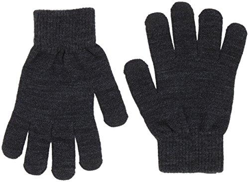 VERO MODA Damen Vilde Handschuhe, Grau-Dark Grey Melange, One Size