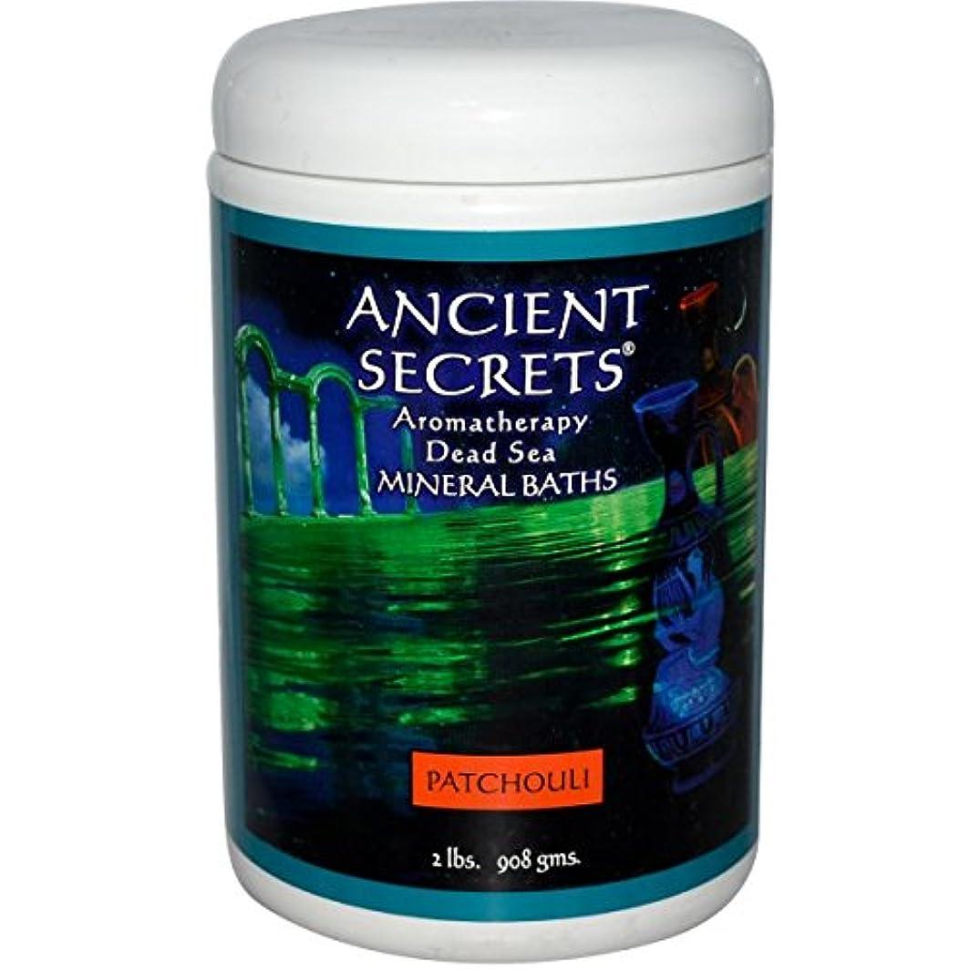 壁イノセンスはさみAncient Secrets, Lotus Brand Inc., Aromatherapy Dead Sea Mineral Baths, Patchouli, 2 lbs (908 g)