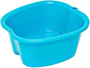 Large Foot Bath Spa Bucket Thick Sturdy Plastic Foot Bath Basin for Soaking Foot, Pedicure,Spa and Foot Massage