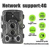 SUNTEKCAM 4G Caméra de Chasse Caméra de Surveillance Étanche 20MP 1080P HD 25m Grand Angle 120° De Vision Nocturne...