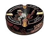Limited Edition Large 8.75' Arturo Fuente Porcelain Cigar Ashtray Black