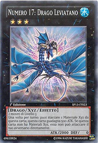 YU-GI-OH! - SP13-IT023 - Numero 17: Drago Leviatano - Star Pack 2013 - Unlimited Edition - Comune