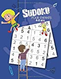 Sudoku Pour Enfants de 4-8 Ans: Livre de grilles de Sudoku pour les enfants | Niveau de difficulté adapté aux enfants à partir de 4 Ans | Solutions en fin d'ouvrage