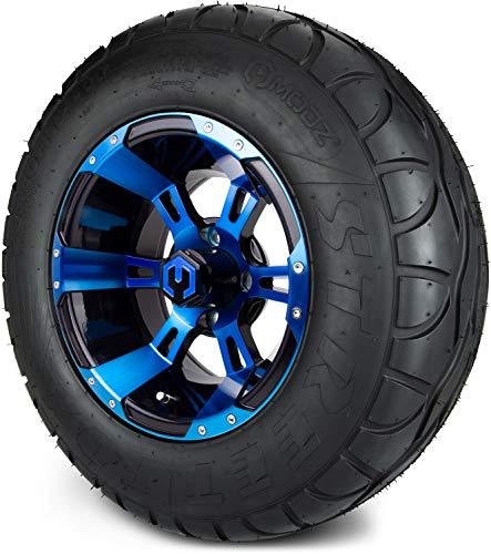MODZ Ambush Blue & Black Wheels