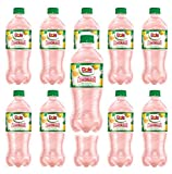 Dole Strawberry Lemonade 20oz bottles Made with Real Lemon juice and real sugar (Total of 200 FL OZ)