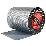 """fowong Butyl Rubber Aluminum Foil Tape 6"""" W, Leak Repair Tape for Metal Roofing,..."""