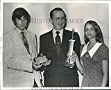 Historic Images 1972 Press Photo Health Careers Poster Contest Winners - noa62383