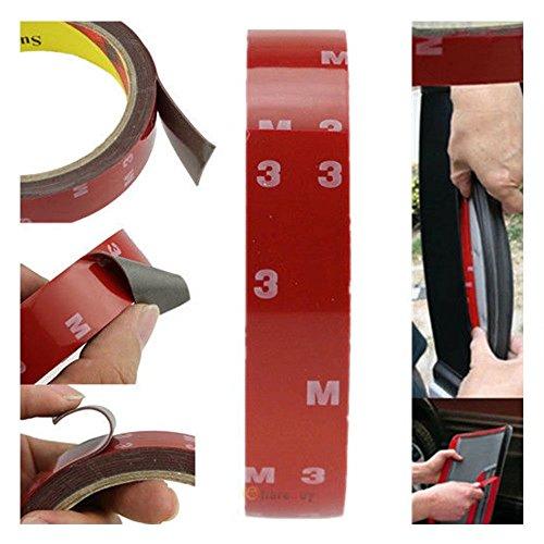 Paddsun 5X Auto Truck Car Acrylic Foam Double Side Tape Adhesive 3m x 10mm Must Haves