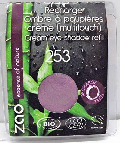 Zao Makeup : Une RECHARGE Fard à Paupières Bio Crème - N°253 Améthyste