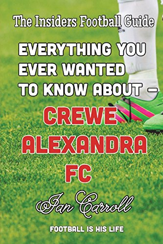 Everything You Ever Wanted to Know About Crewe Alexandra FC