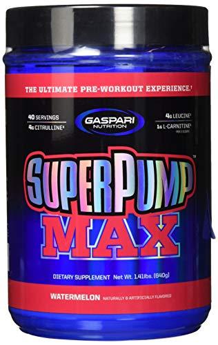Gaspari Nutrition Super Pump MAX - Watermelon, 1er Pack (1 x 640 g)