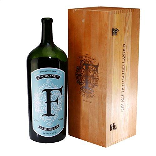 Ferdinand's Saar Dry Gin 15 L -Nebukadnezar in Holzkiste