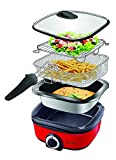 Triomph ETF1672 12-in-1 Multicooker, 1400 W, 5 liters, Red