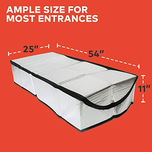 Insulating Attic Stair Cover (25