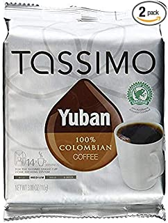 Tassimo Yuban 100% Colombian Coffee 14 T-Count (Pack of 2)