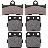 Complete Front and Rear Brake Pad Set for Yamaha 660 Grizzly 2002-2008 Models