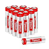 Tipsun AAA Alkaline Batteries 12 Pack, AAA Battery 1.5V High Energy LR03 Dry Batteries for Flashlight, Toys, Remote Control and Other Household Appliance
