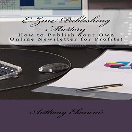 E-Zine Publishing Mastery audiobook cover art