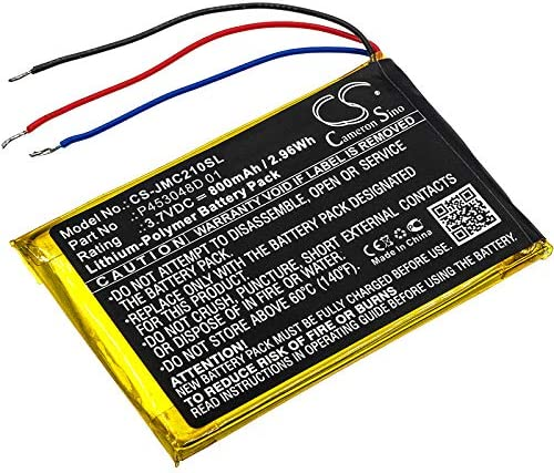 800mAh Battery Replacement Arlington Mall for JBL Edition Clip Special 2 P Mail order