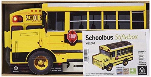 Werkhaus Stiftebox Schoolbus, 250 g