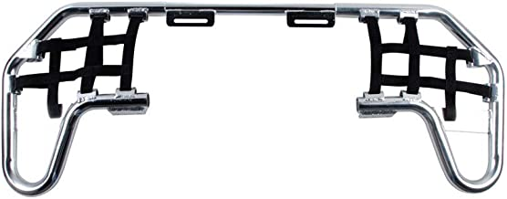 Tusk Comp Series Nerf Bars Silver With Black Webbing - Fits: Yamaha BLASTER 200 1988-2006