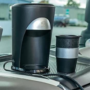 Cafetière 12V de voyage, pour voiture, camping - Allume Cigare - Pour Dosettes de Café