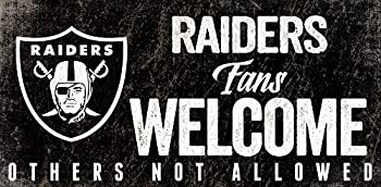 Fan Creations Oakland Raiders Fans Welcome Sign Multi