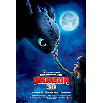 Amazon Com How To Train Your Dragon 3 The Hidden World Movie Poster 2 Sided Original 27x40 Posters Prints