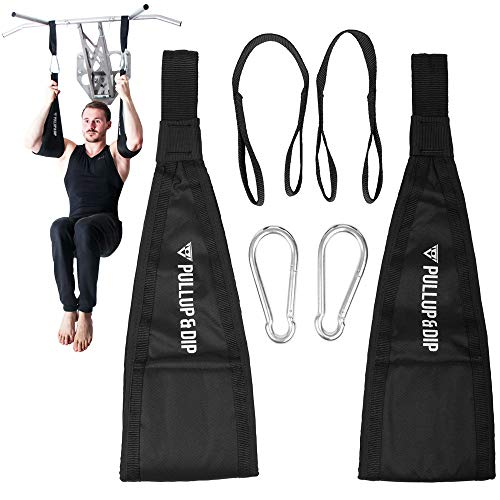 PULLUP & DIP Ab Straps, Premium Abdominal Slings for Abdominal Training, Padded...