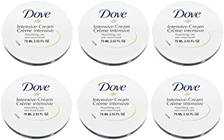 Dove Intensive Nourishing Cream Blue 2.53 FO. Pack of 6