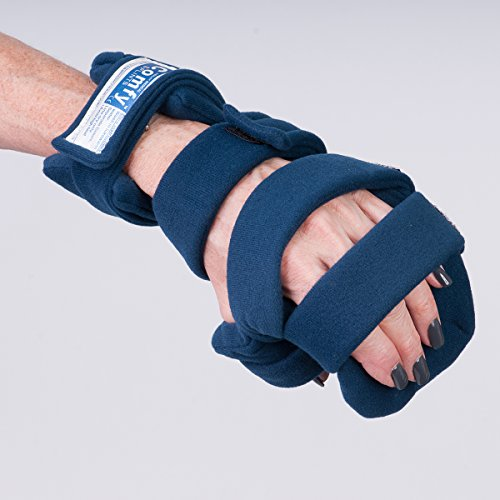 Comfy Splints Progressive Rest Hand W/ Five Straps (Finger Separator Included) - Adult, Left - 1 Each / Each - 24-3315