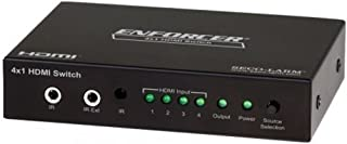 Seco-Larm MVS-AH41-01NQ Enforcer HDMI Switcher/4 HDMI Inputs; Add Three, Four, Or Five HDMI Inputs To Almost Any HD TV Or ...