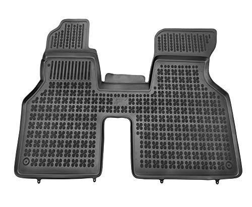 Alfombrillas de Goma Compatible con Volkswagen TRANSPORTER T4 - delanteras (1990 - 2003) + Limpiador de Plasticos (Regalo) | Accesorios Coche Alfombrilla Suelo