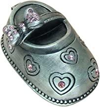 baby shoe trinket box