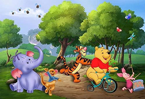 Slbtr Puzzle 1000 Teile 3D Puzzle Winnie The Pooh Poster Album Viii Lernspielzeug Für Erwachsene Kinder DIY Klassische Puzzles Für Wohnkultur, Kinder 75X50Cm
