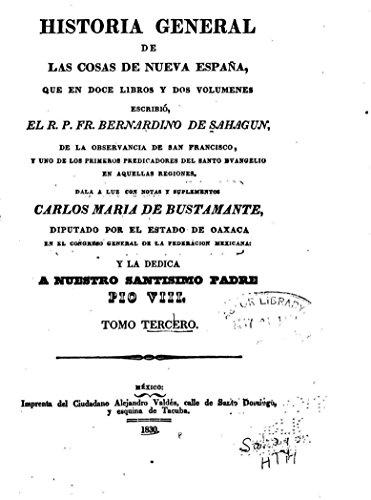 Historia General de Las Cosas de Nueva Espanã eBook: Sahagún, Bernardino de: Amazon.es: Tienda Kindle