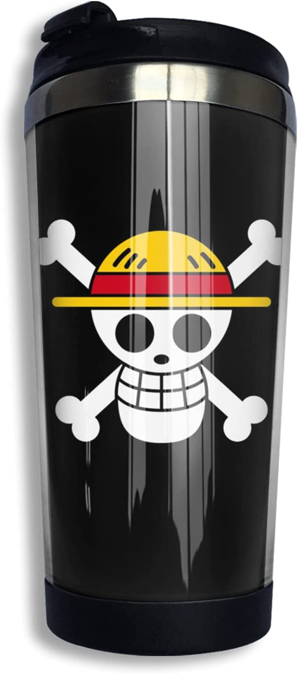 One Piece Logo Anime Coffee Cup Limited price Soldering Funny Coffe 3d Thermos Mug Print