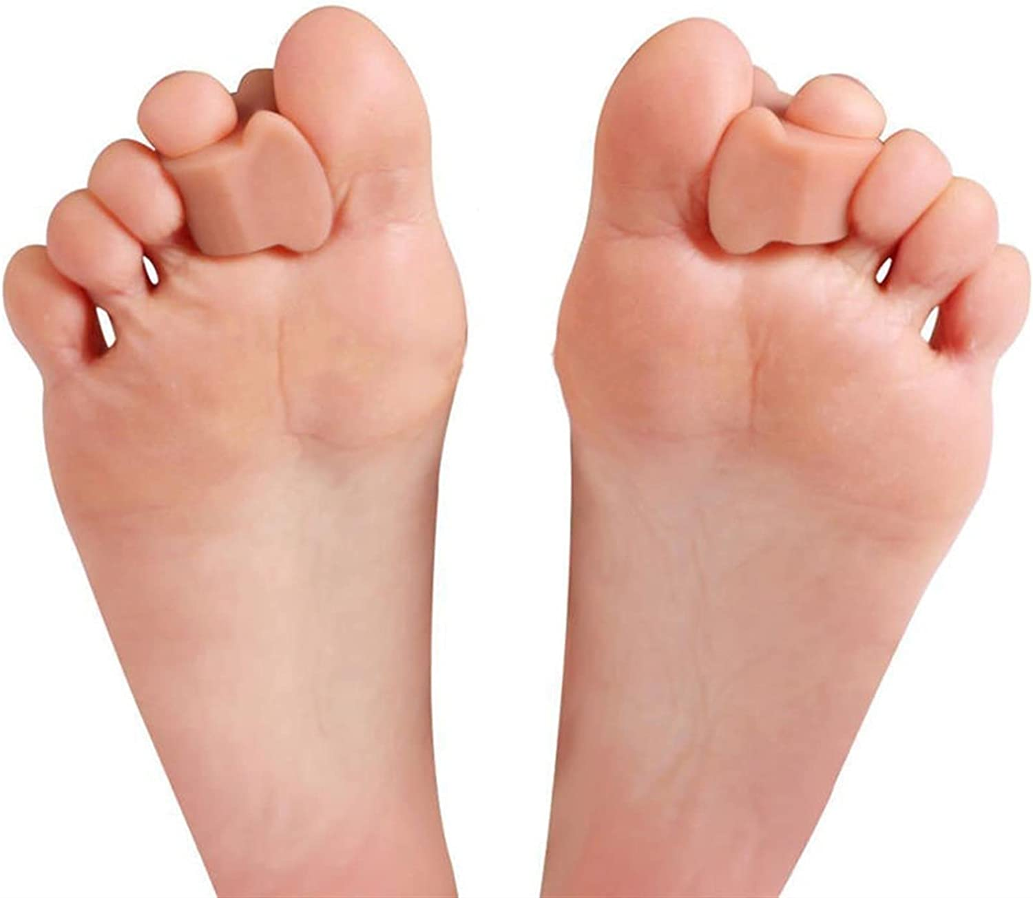 Milwaukee Mall HTTDD Toe Separators Free shipping New 2 Pieces Separ of Bunion Orthosis Silicone