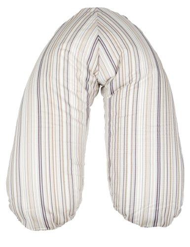 Candide–Stillkissen aus Baumwolle, gestreift)