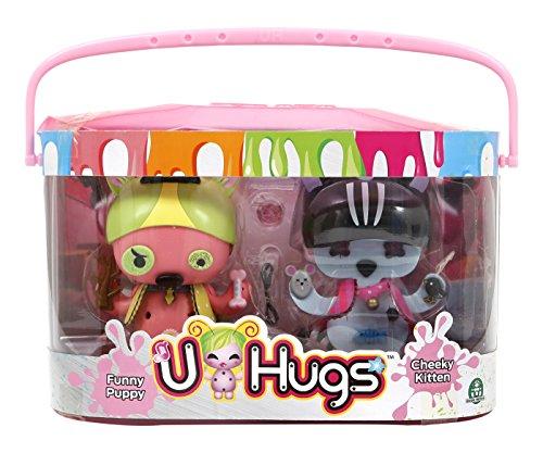 Giochi Preziosi u-hugs–Puppe Katze + Hund