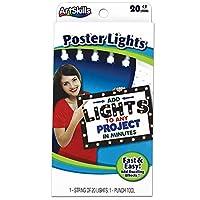 ArtSkills ポスターボードライト 1弦 ホワイトライト20個 1個 (PA-2095)