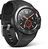 HUAWEI 55021666 Smartwatch 2 (4G/LTE, 4GB ROM, Android Wear, Bluetooth, WiFi) Carbon schwarz Sport Strap