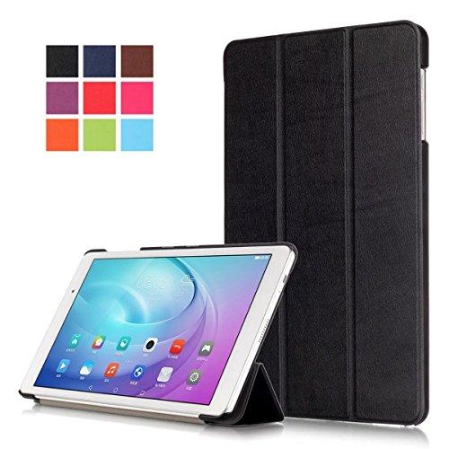 Hülle für Huawei MediaPad T2 10.0 Pro,Smart PU-Leder Hüllen Schutzhülle Tasche Case Cover für Huawei MediaPad T2 10.0 Pro - Schwarz